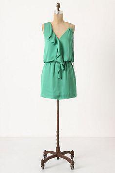 #green #dress
