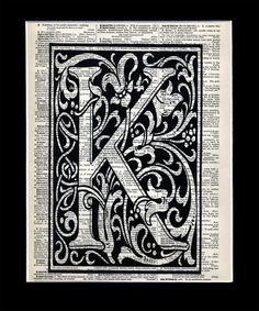dictionary monogram