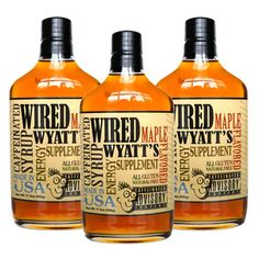 Wired Wyatt's Syrup 3 Pack, $29.75, now featured on Fab.
