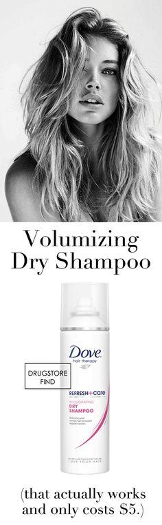 Dove dry shampoo for $5
