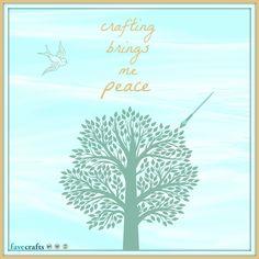 Crafting Brings Me Peace <3