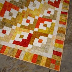 Handmade Quilt border that looks great and is easy