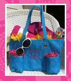get ready for summer with thirty-one!  an organizing utility tote makes a perfect beach bag :) Thirty-One Gifts www.mythirtyone.com/jessywithee