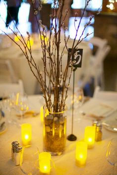 Rustic centerpiece photographed by http://www.liveviewstudios.com, via http://theeverylastdetail.com/a-rustic-lavender-north-carolina-wedding/