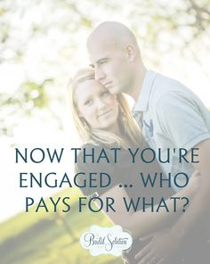A general guideline for wedding payment.