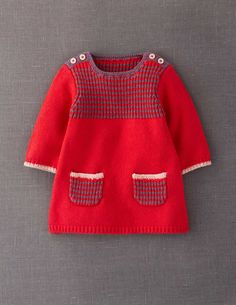 Stripy Knitted Dress