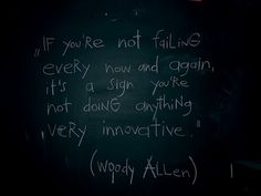 We ALL Fail at times