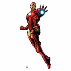 Avengers Assemble Iron Man Lifesized Standup