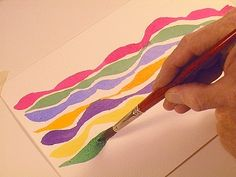 6 Secret Brush Skills for Watercolor Painters:  Thick 'n' Thin