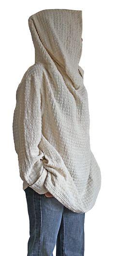 ターポン手織り綿のロングタートル  BFS-070-02