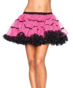 petticoats, many colors