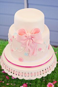 Beautiful baptism cake!