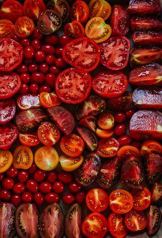 juicy, deep red, summer // @thefirstmess