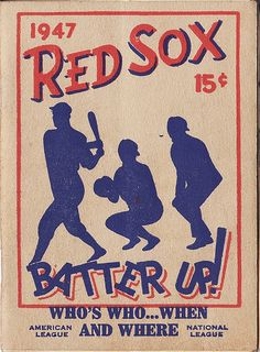 1947 Red Sox Batter Up! - Who's Who