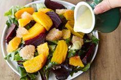 Citrus Beet Salad, Avocado Lime Dressing