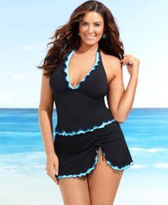 Plus Size Tankinis Choice In Plus Size Swimwear ~