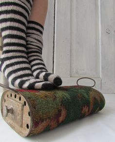 Foot warmer carriage heater antique