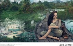 LV Core Values Campaign - Angelina Jolie