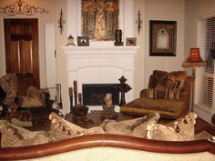 Tuscan Living Room Decorating Ideas | Tuscan Old World Living Room - Living Room Designs - Decorating Ideas ...