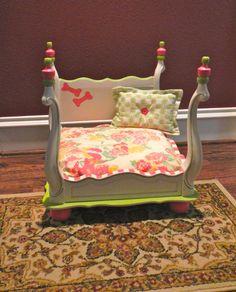 Handmade Pet Bed by DarlinLillyRose on Etsy