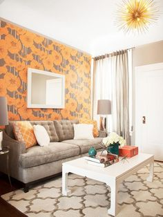 Eclectic Living-rooms from Coddington Design on HGTV