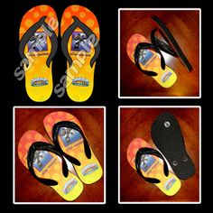 SKYLANDERS GIANTS FLIP FLOP SANDALS (YOUTH)