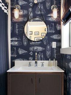 gorgeous nautical bathroom