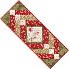Winter Palace Table Runner by Maywood Studio