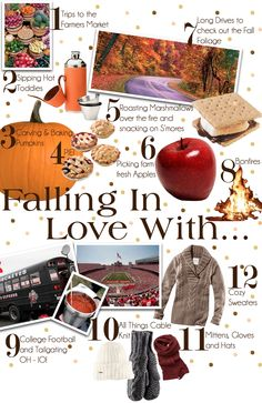Twelve Reasons To Fall In Love WithFall❤