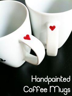 MalloryMakesThings: DIY- Custom Coffee Mugs