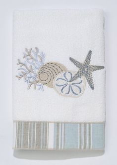 By The Sea Hand Towel | OceanStyles.com