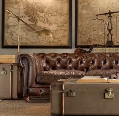 ... want my living room: strong, cosy and and able to evoke the past. More