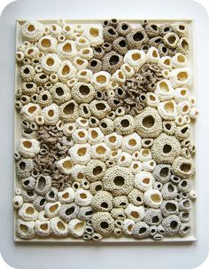 free form crochet soft sculpture by cornflowerbluestudio, via Flickr