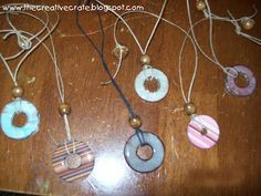 FuN Washer Necklaces