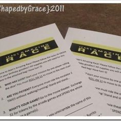 Amazing Race {Birthday Party Games} This went better than I thought it would.  Made up our own road blocks.