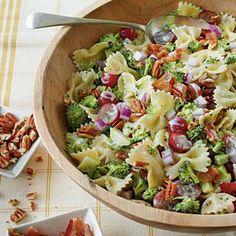 Broccoli, Grape, and Pasta Salad | MyRecipes.com
