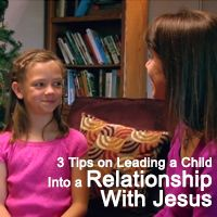 Yes! THIS is the way to talk to kids about Jesus. #kidmin