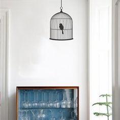decal 64, lone bird, birdcag wallstick, bird cage, wall decals