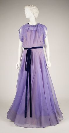 Dress, House of Worth 1928, French, Made of silk