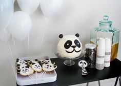 Pink Peach Cakes: Buddy's Panda Party