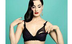 Dita Von Teese Debuts Beautiful Maternity Lingerie - FabFitFun