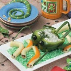 healthy bug food!