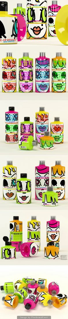I would buy this just for the #packaging curated by Packaging Diva PD : ) created via http://www.packagingoftheworld.com/2014/01/twister-sisters-student-project.html#