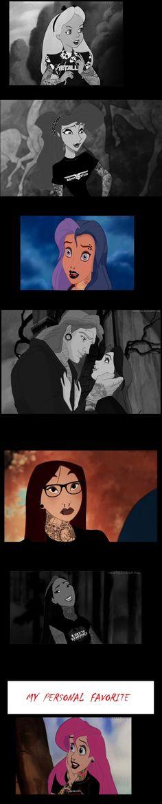 Goth/Emo Disney