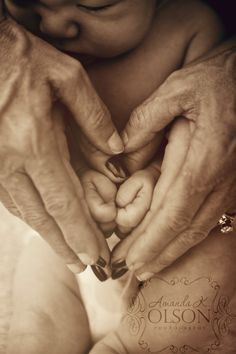3 generations of love- a legacy:)   Newborn photography