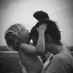 Sweet mama moment.