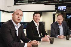 La Magie des All Blacks : Philippe Saint André, Byron Kelleher et Ian Borthwick.