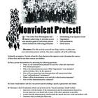 """Letter from Birmingham Jail Nonviolent Protest Activity: What better way to really understand Martin Luther King, Jr.'s vision than for students to """"walk in his shoes"""" and create their own protest demonstration on an issue they feel passionate about. #lessons"""