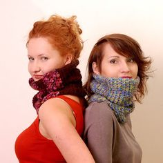 Eleven handmade crochets by Linda Skuja - blog: Two Cozy Cowls - Set of Patterns