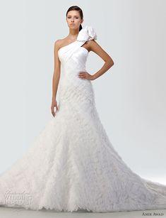 wedding dress  Shoulder Dress #2dayslook #anoukblokker #ramirez701 #lily25789 #ShoulderDress     www.2dayslook.com